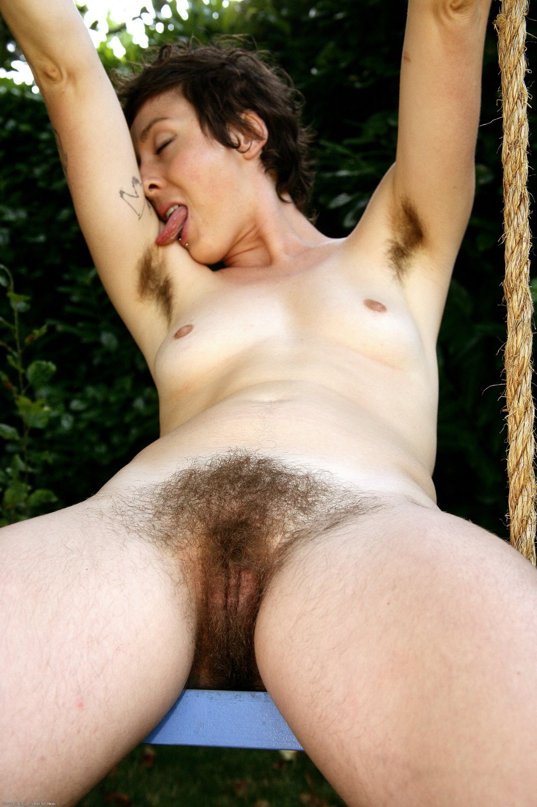 hairy armpits of ladies